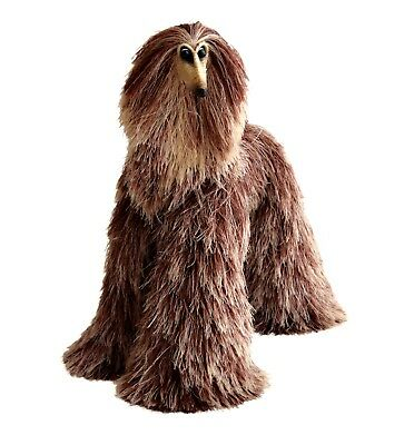 Collectibles Animals Brown Beige Afghan Hound Cute Plush Mini Toy Stuffed Animal
