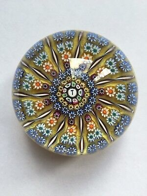 "Vintage Perthshire Millefiori Glass PP2 ""Gavel"" Paperweight"