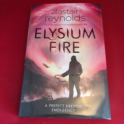 Elysium Fire - Alastair Reynolds - Signed First Edition Hardback HB - BRAND NEW