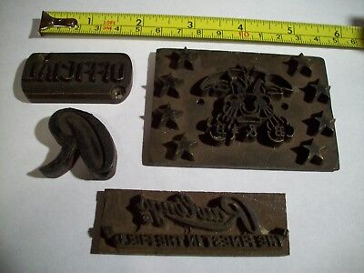 vintage baseball glove STAMPS from Rawlings factory antique B B rare............
