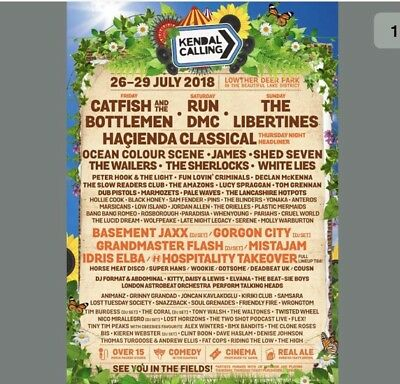 Kendal Calling Live In Vehicle Pass