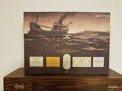 ISLAY COLLECTION 2007 Lagavulin Caol Ila no Port Ellen Single Malt Scotch Whisky