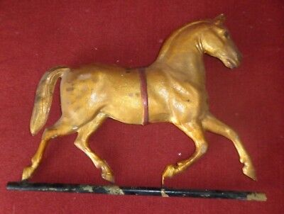 """TIN HORSE FOR A WEATHERVANE - 15"""" X 11"""" - New Old Stock"""