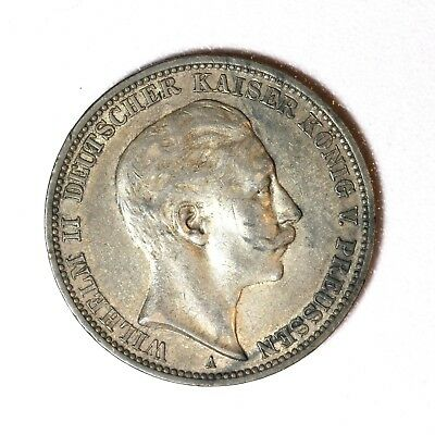 Germany/Prussia Silver 3 Mark 1910