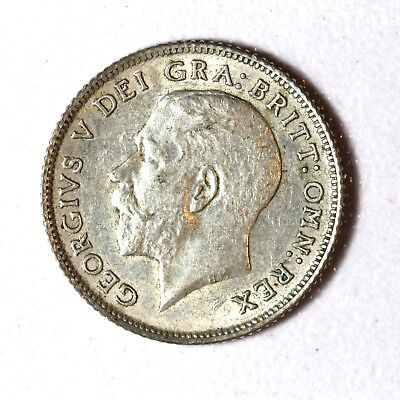 Great Britain Silver 6 Pence 1923