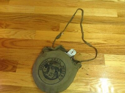 vtg scout mess kit - Ancienne gamelle scout camping plein air