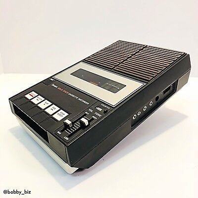 Sears Solid State Portable Cassette Recorder/Player Vintage 1970's (21672)