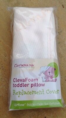 Clevamama Clevafoam Toddler Pillow Replacement Cover