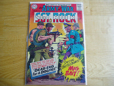 Our Army At War DC Comic Lot #161 #162 #163 Sgt Rock Easy Co Early Key Issues
