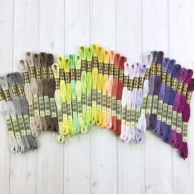 NEW DMC 35 Colours Thread Skeins 1-35