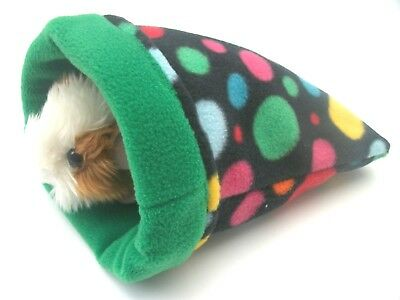 COZY PETS guinea pig bed snuggle pouch sack cuddle cup sleeping bag hedgehog lge