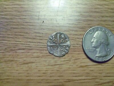 Unknown 1500s or 1600s  Silver Medieval Coin. ( lot # gg10