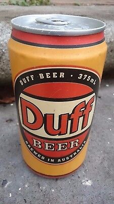 Duff Beer Can - Original! Rare! - Simpsons Memorabilia