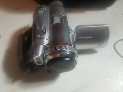 Panasonic PV-GS250 3.1MP 3CCD MiniDV Camcorder w/10x Optical Zoom works perfect