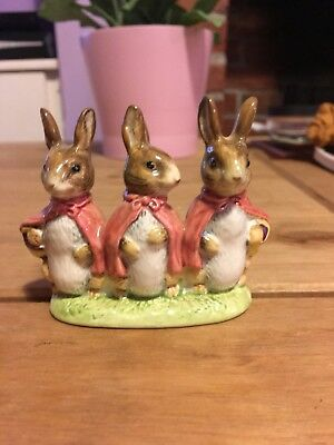 Beatrix Potter Beswick Figurine | Flopsy, Mopsy And Cottontail