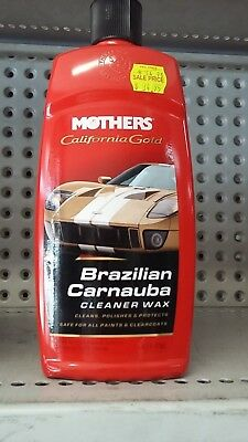 MOTHERS - California Gold Brazilian Carnauba Cleaner Wax #05701