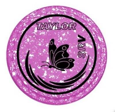 New Taylor Bowls SRV - Size 1H - Pink/White - Butterfly - Half Pipe Grip