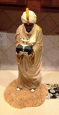Thomas Blackshear Ebony Visions THE WISE MAN WITH GOLD Limited Edition Figurine