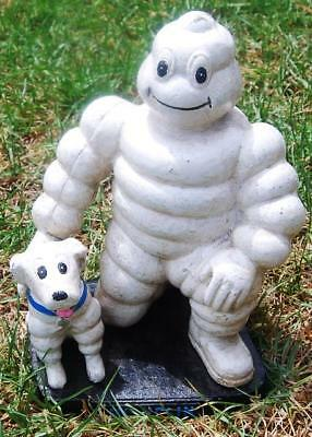collectableCAST IEON MICHELIN MAN AND DOG....