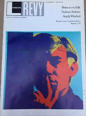 Andy Warhol signed original Exhibition Catalog 1978 not Keith Haring