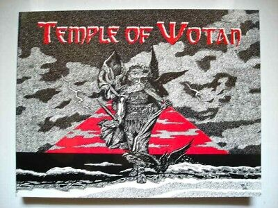 14 Word Press book: TEMPLE OF WOTAN, viking, runes, pagan, celtic, nordic, odin