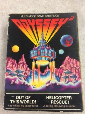 Out of This World/Helicopter Rescue (Odyssey2/Videopac, 1979)