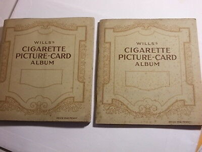 2 Full 1920's - 30's Cigarette Card Albums. Household Hints etc. VG/Exc.