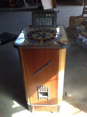 Vintage slot Machine Lucky Star By Evans
