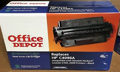 Office Depot Remanufactured HP C4096A Toner Cartridge for 2100 and 2200 series