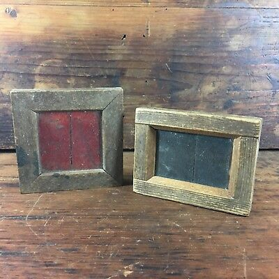 LOT X2 c.1890 W.BUTCHER & SONS 'PRIMUS' ENGLAND PHOTO PRINTING FRAME RUSTIC