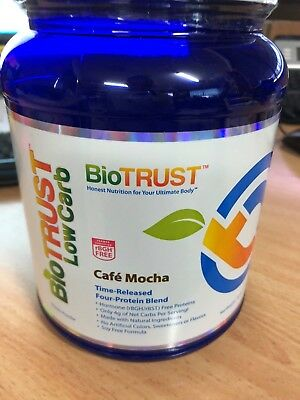 BioTrust LowCarb Time-Released Four- Protein Blend Cafe Mocha