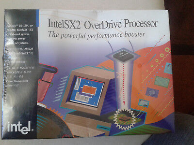 Intel Overdrive Sx2Odp50.s Z901 Brand New In Unopened Sealed Box. 1994 Wow!!!