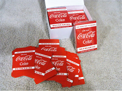 2010 Four Decks Coca-Cola Coke Playing Cards Poker Size By Bicycle Never Opened