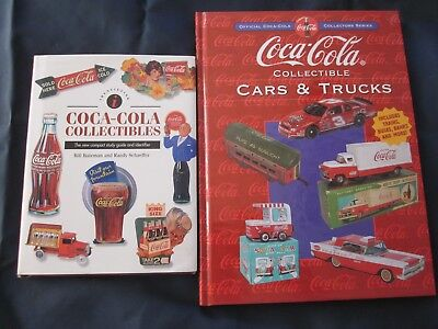Coca-Cola Collectible Books Lot Of 2 Collectibles/cars & Trucks