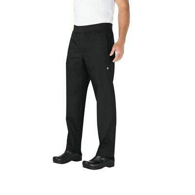 Chef Works Lightweight Black Slim Fit Chef Pants