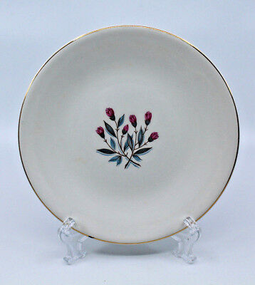 Enoch wedgwood tunstall ltd Bread and Butter Side Plate Pink Flower 17.5 cm