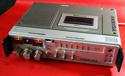 Philips D-6920 portabler Stereo-Recorder mit Pitch Control