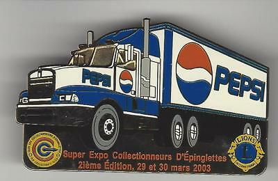 PEPSI COLA Hat / Lapel Pin Pepsi Truck 2003 Super Expo