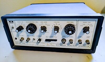 Exact model 501A VCF/sweep function generator