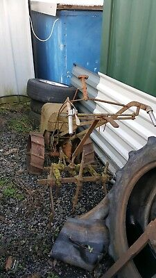 bmb cultimate/plough mate horticultural tractor
