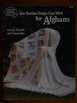 American School Of Needlework Cross Stitch Patterns - Afghans Baby Flowers Home