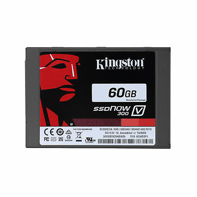 NEw for Kingston SV300S37A/60G SSD-Festplatte 60GB (6,4 cm (2,5 Zoll), SATA III)