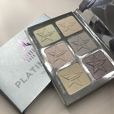 Jeffree Star 'PLATINUM ICE' Skin Frost Pro Palette- 100% Authentic
