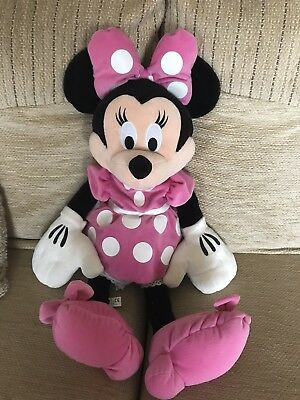 Large Minnie Mouse Plush Toy