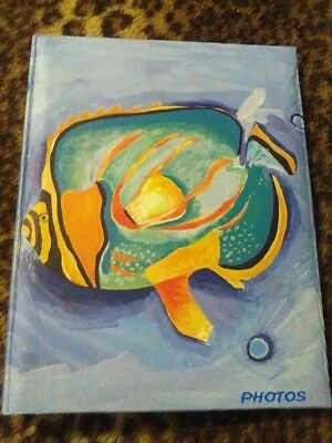 Blue Fish Photo Album .... EXCELLENT CONDITION / LIKE NEW