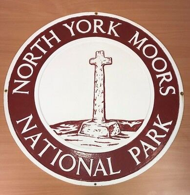 North York Moors National Park Boundary Sign (Cast Iron) 4 of 19