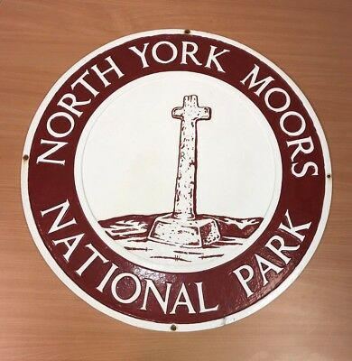 North York Moors National Park Boundary Sign (Cast Iron) 5 of 19