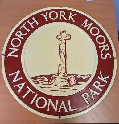 North York Moors National Park Boundary Sign (Plastic/PVC) 4 of 8