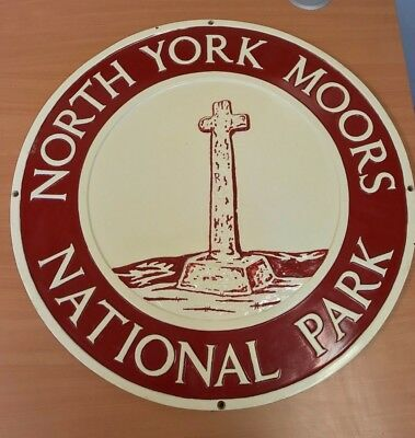 North York Moors National Park Boundary Sign (Plastic/PVC) 5 of 8