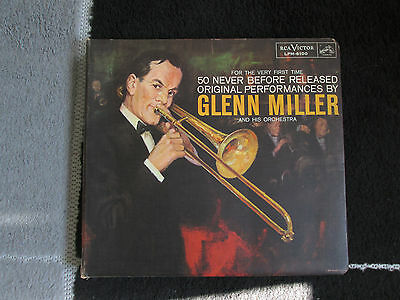 Glenn Miller For the very First Time 50 Hits on Three LP's